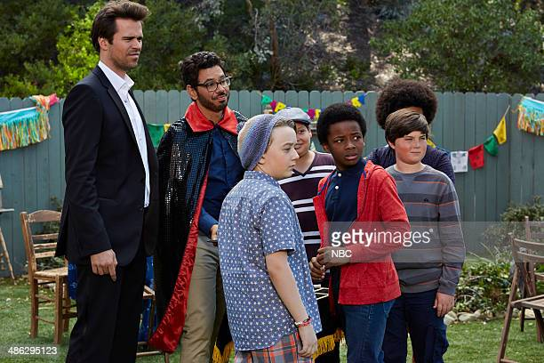 BOY 'About a Birthday Party' Episode 111 Pictured David Walton as Will Freeman Al Madrigal as Andy Benjamin Stockham as Marcus Photo by Ben...