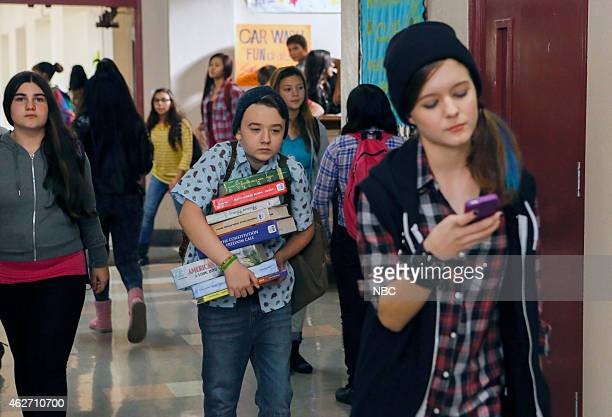 BOY About a Boyfriend Episode 213 Pictured Benjamin Stockham as Marcus Izabela Vidovic as Shea GarciaMiller