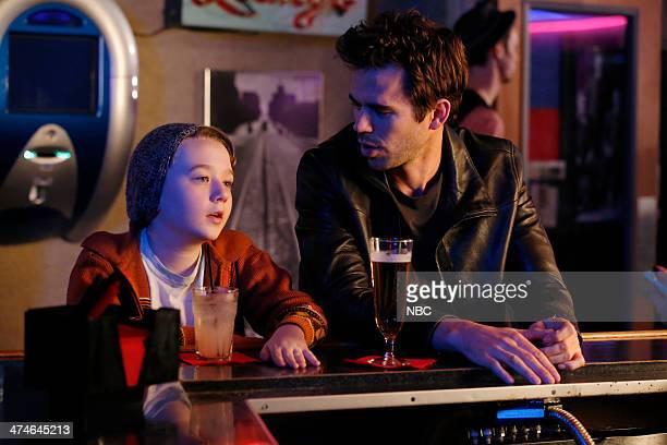 BOY About a Godfather Episode 104 Pictured Benjamin Stockham as Marcus David Walton as Will Freeman