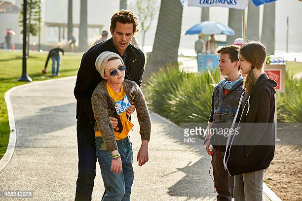 BOY About a Self Defense Episode 219 Pictured Benjamin Stockham as Marcus David Walton as Will Griffin Gluck as Clay Izabela Vidovic as Shea