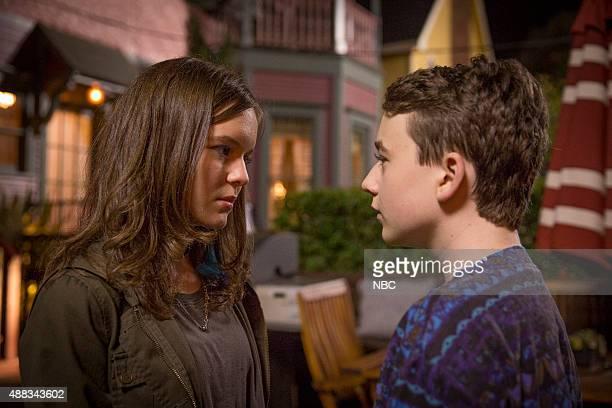 BOY About a Self Defense Episode 219 Pictured Izabela Vidovic as Shea Benjamin Stockham as Marcus