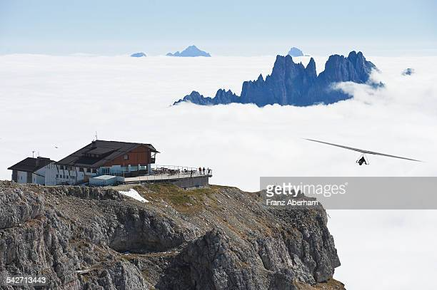 Above clouds, Dolomites