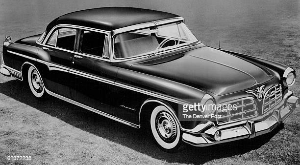 NOV 10 1954 Above is the 1955 Imperial a completely separate line of automobiles introduced by Chrysler The model shown here is the sixpassenger...