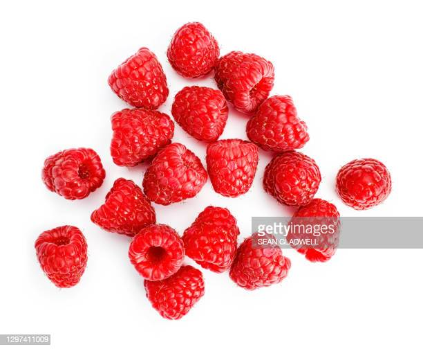 above raspberries - looking down stock pictures, royalty-free photos & images