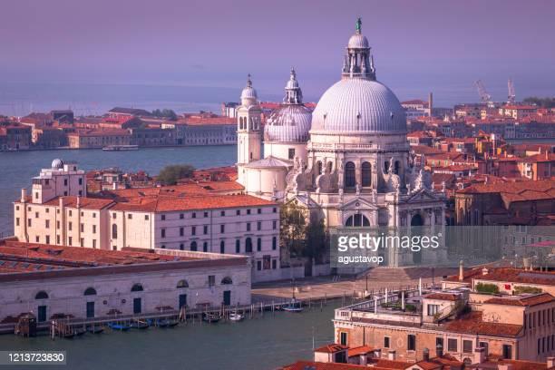 サンタ・マリア・デッラ・サルーテの上、ローマカトリック教会 -ヴェネツィア、イタリア - プンタデラドガーナ ストックフォトと画像