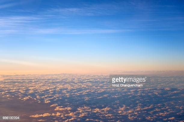 above the cloud - atmosphere stock pictures, royalty-free photos & images