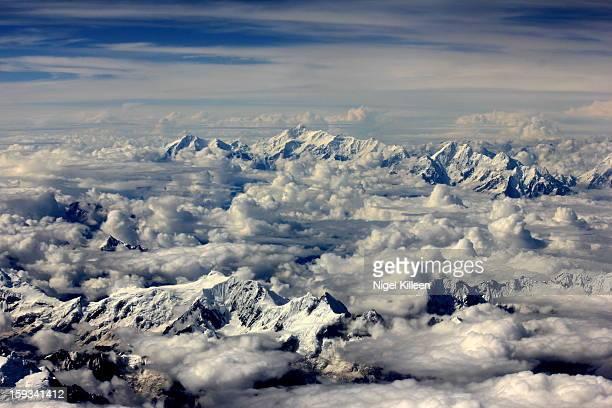 Above the Himalayas