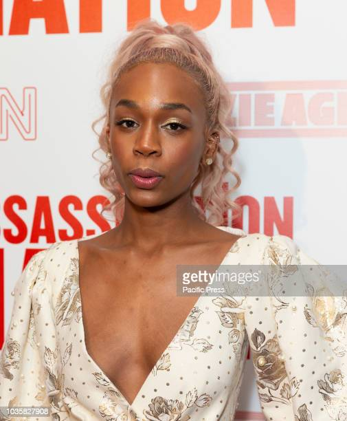Abra attends premiere of Assassination Nation at Metrograph