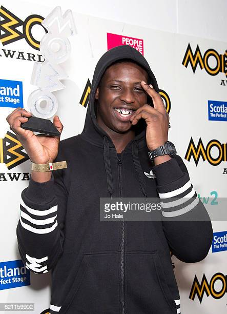 Abra Cadabra wins Best Song at the MOBO Awards at The SSE Hydro on November 4 2016 in Glasgow Scotland