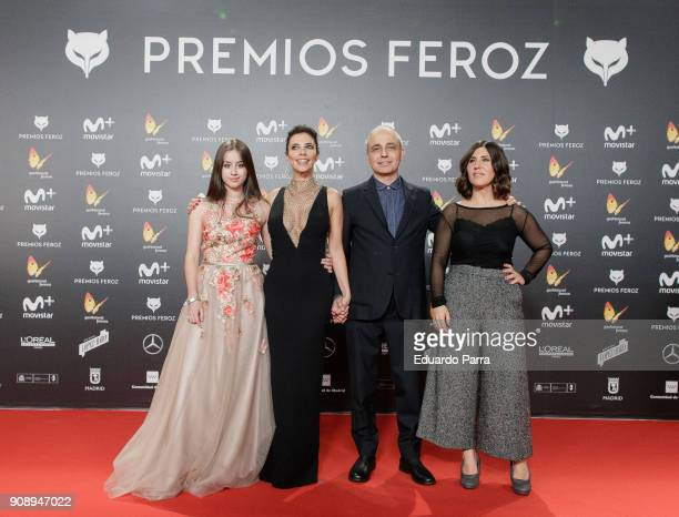 'Abracadabra' film cast attend Feroz Awards 2018 at Magarinos Complex on January 22 2018 in Madrid Spain