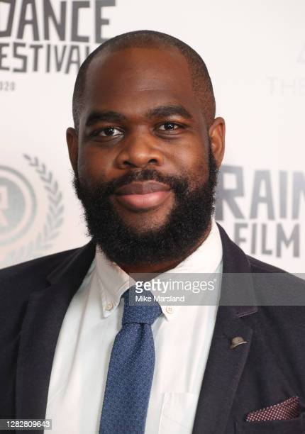 """Abraham Adeyemi attends the """"Stardust"""" Opening Film & UK Premiere during the 28th Raindance Film Festival at The May Fair Hotel on October 28, 2020..."""