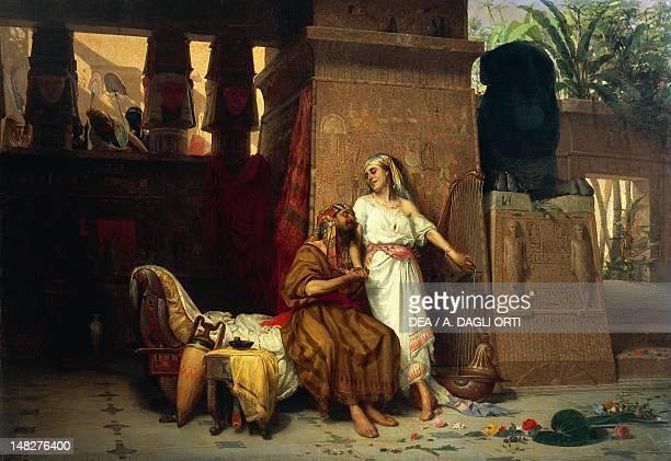 Abraham and Sarah at the court of the Pharaohs by Giovanni Muzzioli Modena Museo Civico Archeologico Etnologico Palazzo Dei Musei