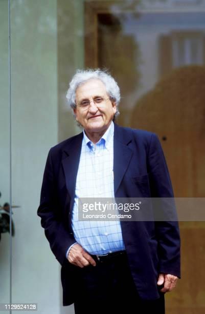Abraham B Yehoshua, Abraham Yehoshua, portrait, writer, Israeli, novelist, Milan, Italy, 15th November 2004.