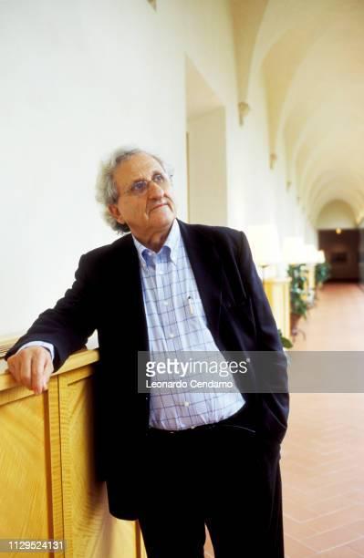Abraham B Yehoshua, Abraham Yehoshua, portrait, writer, Israeli, novelist, Pordenone, Italy, 15th November 2004.