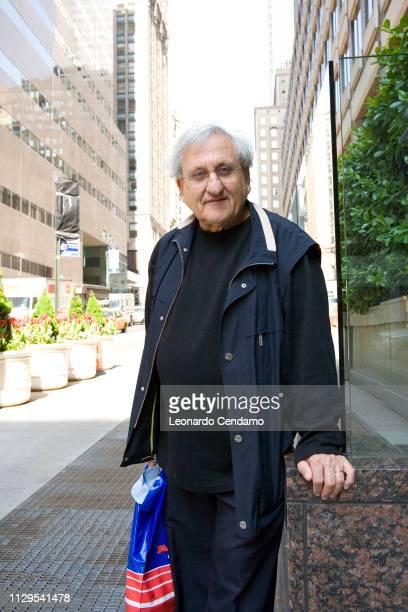 Abraham B Yehoshua, essayist, novelist, playwright, Israeli, writer, portrait, Torino-Turin, Italy, May 2008.