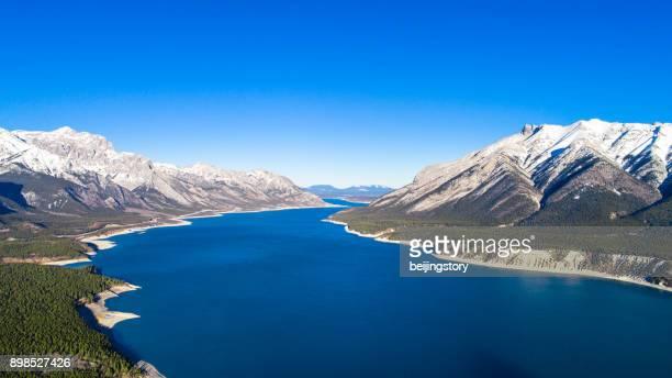 Abraham lake,Canada