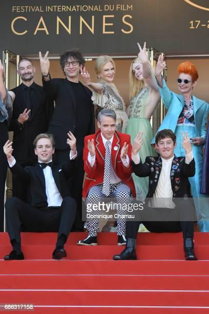 Abraham Lewis director John Cameron Mitchell Alex Sharp producer Howard Gertler writer Neil Gaiman actresses Nicole Kidman Elle Fanning and costume...