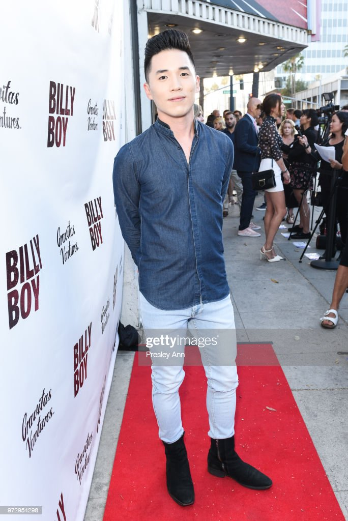 Abraham Lim attends 'Billy Boy' Los Angeles premiere at Laemmle Music Hall on June 12, 2018 in Beverly Hills, California.