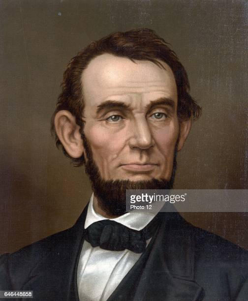 Abraham Lincoln 16th President of the United States of America 18611865 Asassinated at Ford's Theatre Washington by actor and Confederate spy John...