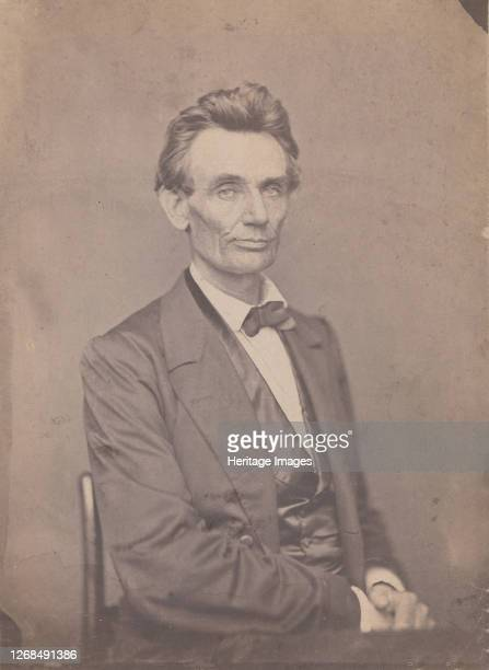 Abraham Lincoln May 20 1860 Artist William Marsh