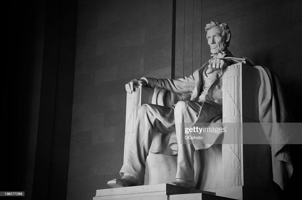 Abraham Lincoln Memorial : Stock Photo