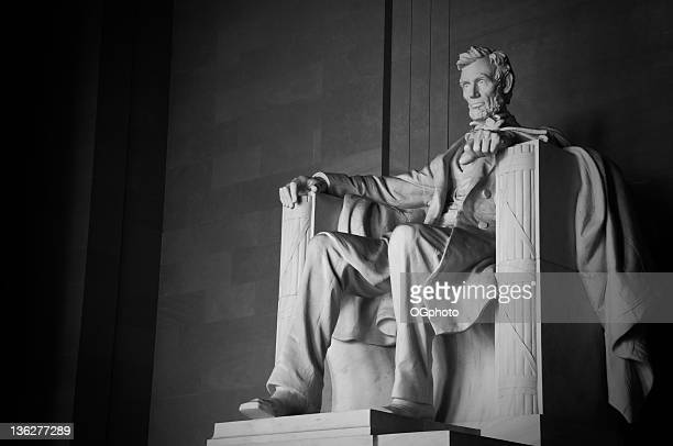 abraham lincoln memorial - president stock pictures, royalty-free photos & images