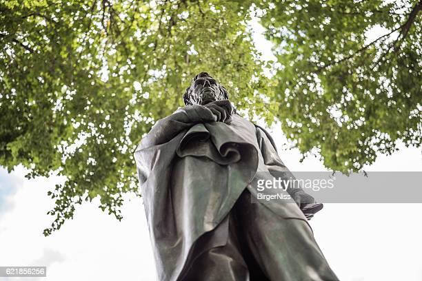 Abraham Lincoln sculpture, Manhattan, New York City, United States