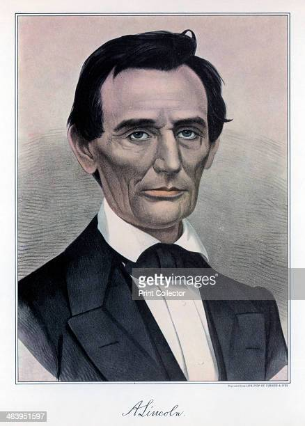 Abraham Lincoln, sixteenth President of the United States, 19th century. Lincoln joined the Republican party in 1858 and was elected president two...