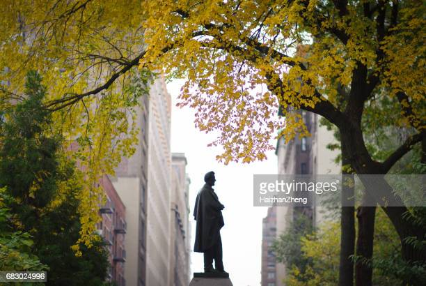 Abraham Lincoln statue at Union Square Park in New York