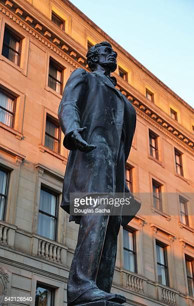 Abraham Lincoln Statue, Cleveland, ohio, USA