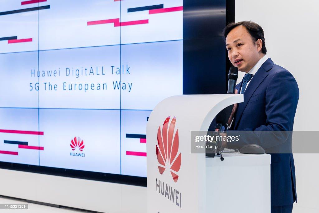 BEL: Huawei Technologies Co. Chief EU Representative Abraham Liu News Conference