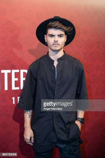 Abraham Mateo attends 'El Intercambio' Madrid Premiere on May 30 2018 in Madrid Spain