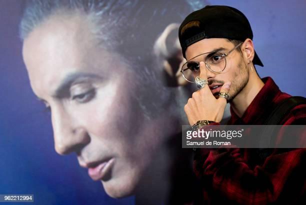 Abraham Mateo attends 'Pitingo Mestizo Y Fronterizo' Madrid Premiere on May 24 2018 in Madrid Spain