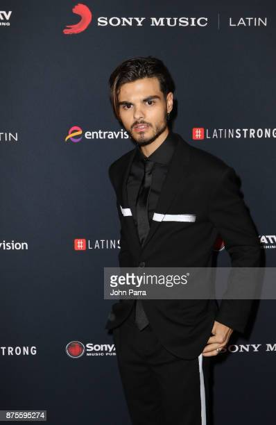 Abraham Mateo attends Sony Music Latin Celebrates Its Artists At Their Annual Latin Grammy After Party on November 16 2017 in Las Vegas Nevada