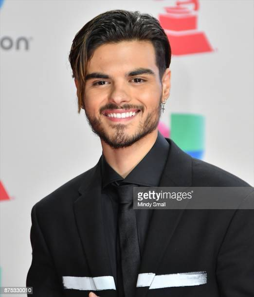 Abraham Mateo attends the 18th Annual Latin Grammy Awards at MGM Grand Garden Arena on November 16 2017 in Las Vegas Nevada