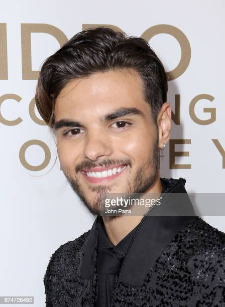 Abraham Mateo attends the 2017 Person of the Year Gala honoring Alejandro Sanz at the Mandalay Bay Convention Center on November 15 2017 in Las Vegas...