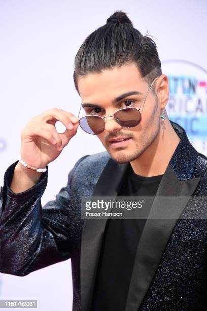 Abraham Mateo attends the 2019 Latin American Music Awards at Dolby Theatre on October 17, 2019 in Hollywood, California.