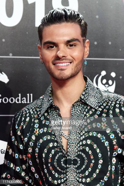 Abraham Mateo attends the 40 Principales Awards nominated dinner at Florida Retiro on September 12, 2019 in Madrid, Spain.