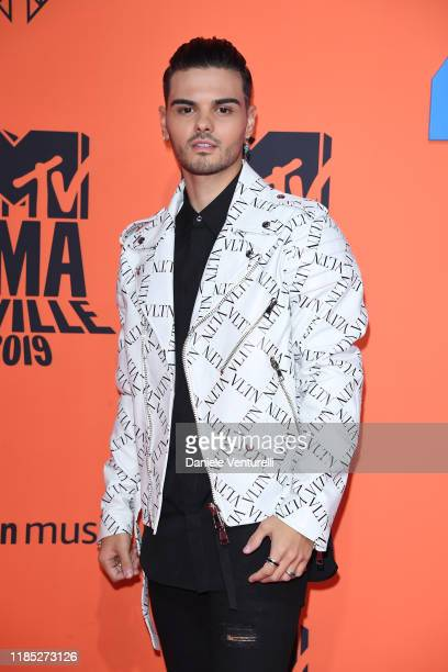 Abraham Mateo attends the MTV EMAs 2019 at FIBES Conference and Exhibition Centre on November 03, 2019 in Seville, Spain.