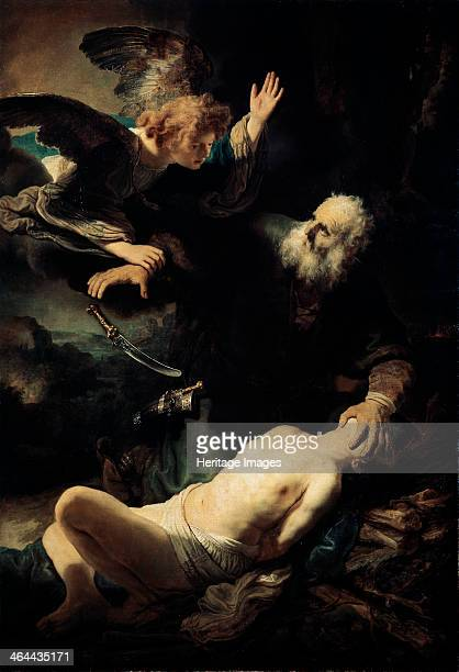 Abraham Sacrificing Isaac' 1635 God ordered Abraham to sacrifice his son Isaac as a test of his faith Abraham set out to carry out the command...