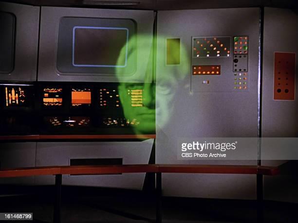 "Abraham Sofaer as The Thasian in the STAR TREK episode, ""Charlie X."" Season 1, episode, 2. Original air date September 15, 1966. Image is a screen..."
