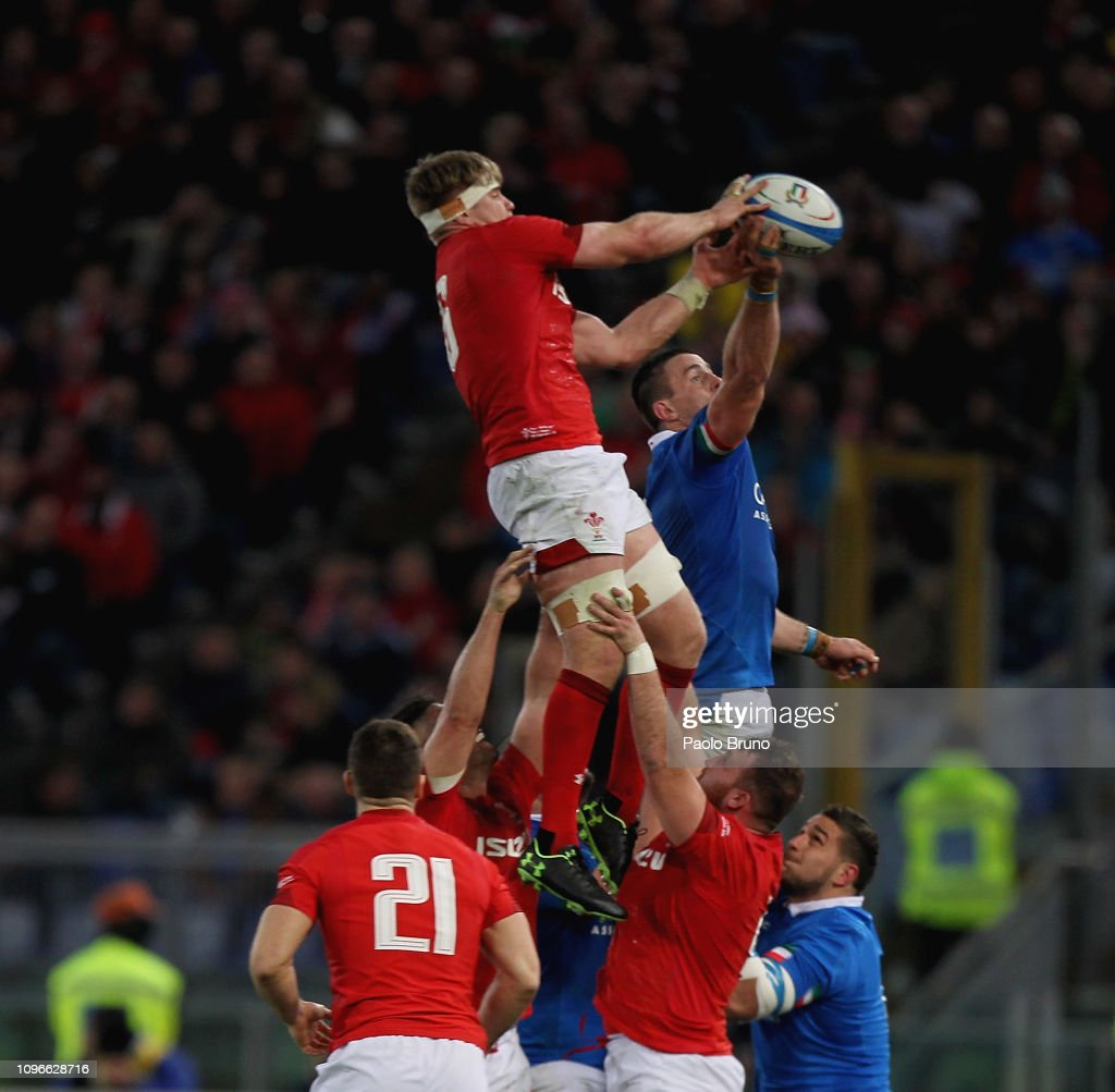 Italy v Wales - Guinness Six Nations : News Photo