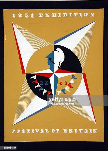 Abram Games Design for the Festival of Britain 1951