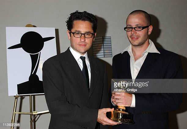 JJ Abrams and Damon Lindelof winners for Best Network Television Series for 'Lost'