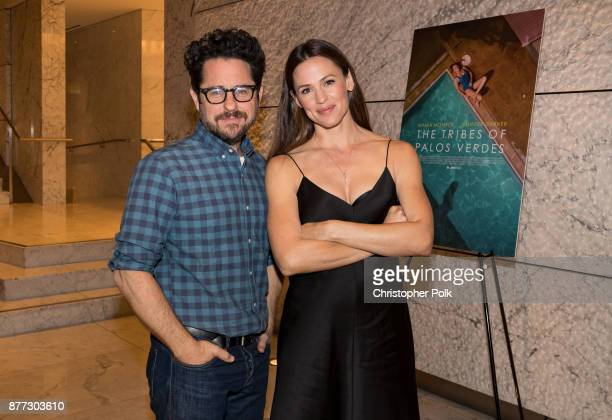 Abrams and Jennifer Garner attend the Screening Of IFC Films' The Tribes Of Palos Verdes at the Ray Kurtzman Theater on November 21 2017 in Los...