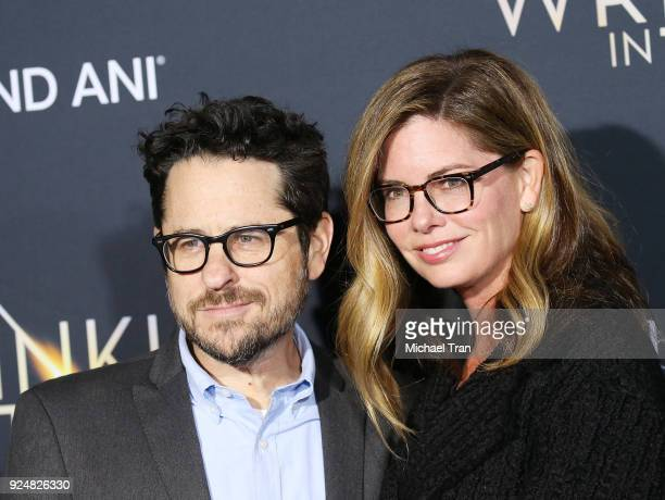 J Abrams and Katie McGrath arrive at the Los Angeles premiere of Disney's 'A Wrinkle In Time' held at El Capitan Theatre on February 26 2018 in Los...