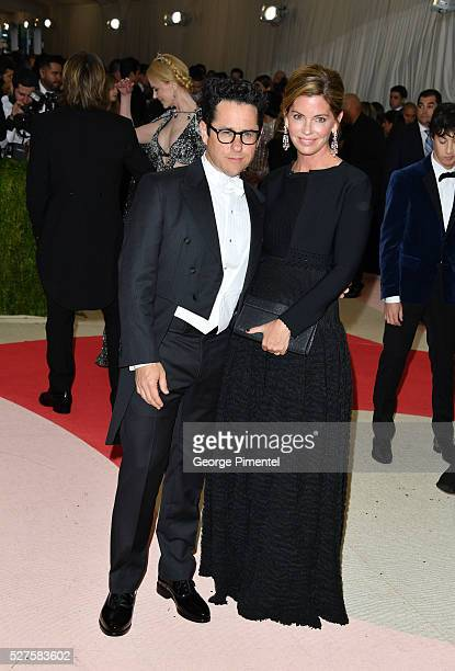 J Abrams and Katie McGrath attend the 'Manus x Machina Fashion in an Age of Technology' Costume Institute Gala at the Metropolitan Museum of Art on...
