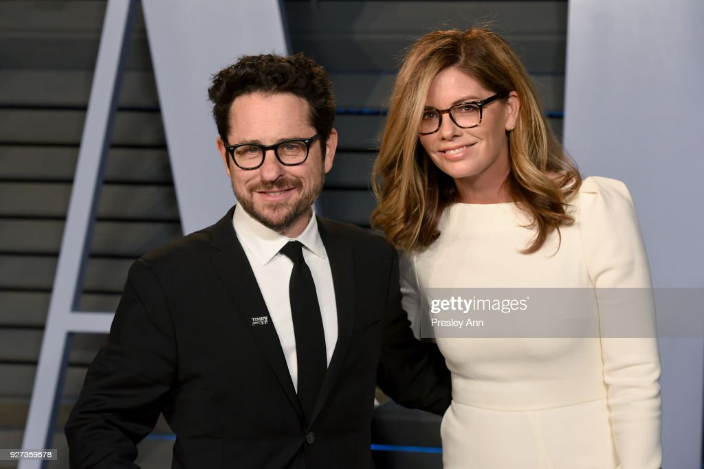 J.J. Abrams and Katie McGrath attends the 2018 Vanity Fair Oscar Party Hosted By Radhika Jones - Arrivals at Wallis Annenberg Center for the Performing Arts on March 4, 2018 in Beverly Hills, California.