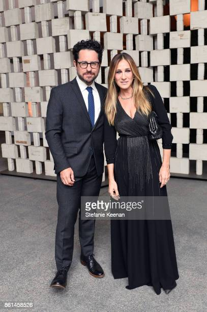J Abrams and Sarah Jessica Parker at the Hammer Museum 15th Annual Gala in the Garden with Generous Support from Bottega Veneta on October 14 2017 in...