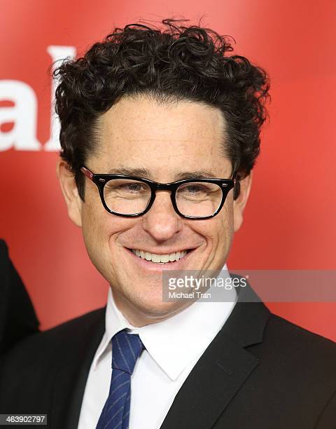 J Abrams arrives at the NBC/Universal 2014 TCA Winter press tour held at The Langham Huntington Hotel and Spa on January 19 2014 in Pasadena...